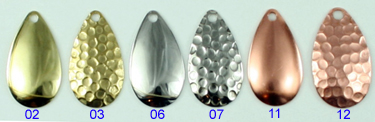 5 #10 MAGNUM  Indiana Blades/<*/>.025 steel  *SMOOTH NICKEL*