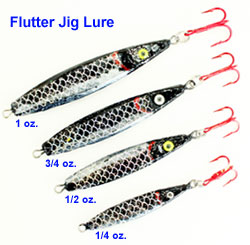 Flutter jig molds for Ice fishing jig molds