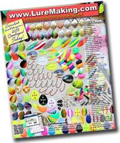 aluminum molds soft plastics - senko molds ::: luremaking, Soft Baits